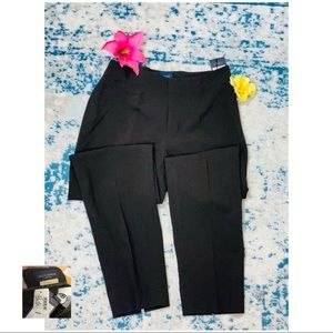 PIAZZA SEMPIONE NWT Chocolate Pleated Pant